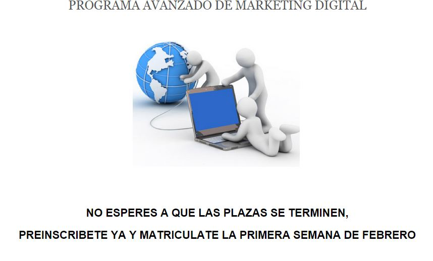 Descubre el programa Avanzado de Marketing Digital