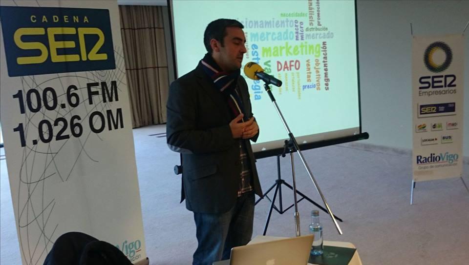 Ponencia de Marketing para empresarios en Vigo