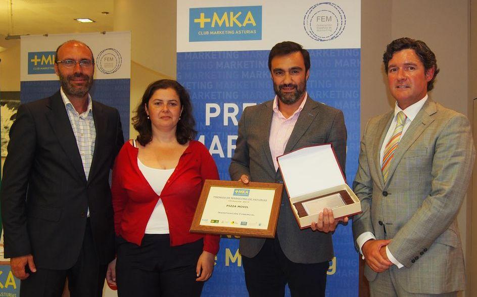 Pizza Móvil, recibe el Premio a la Mejor Investigación Comercial 2014