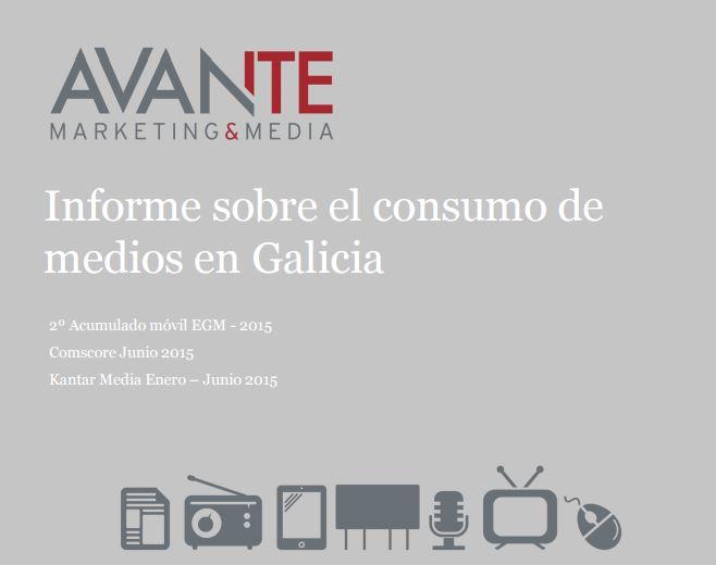 Informe sobre el consumo de medios en Galicia
