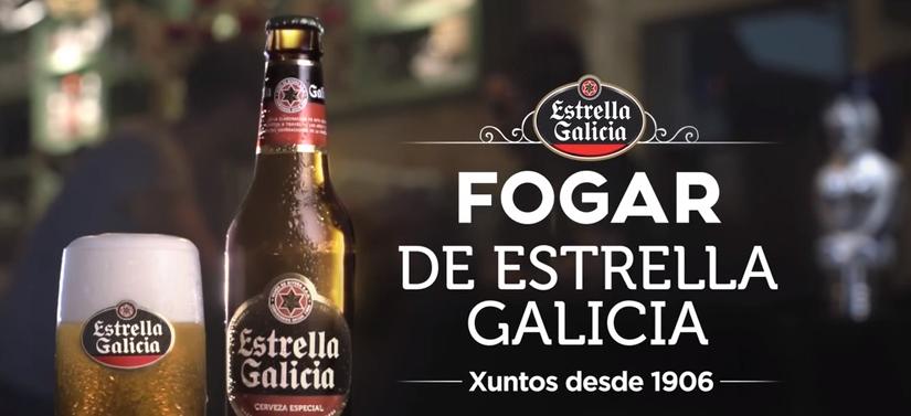 Lanzamento do novo spot Estrella Galicia