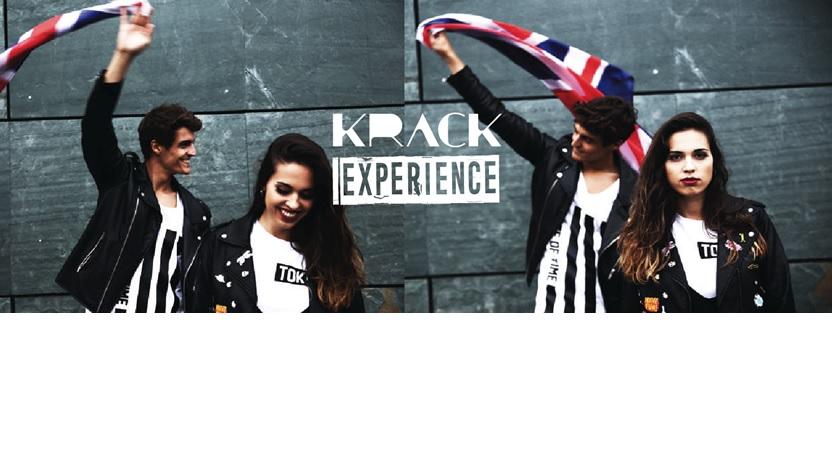Krack aposta polos Z e millenials no seu último proxecto Krack Experience