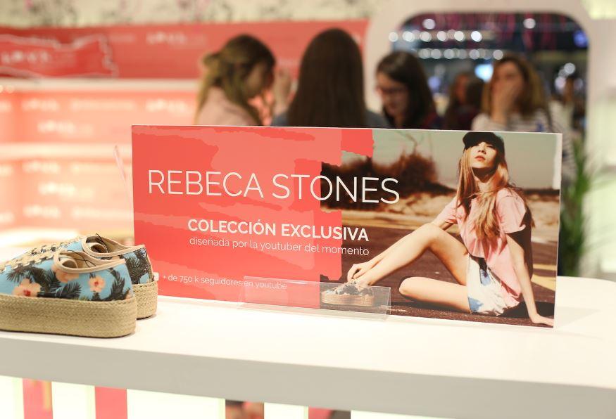 Krack aposta pola youtuber viguesa Rebeca Stones para lanzar a súa colección de zapatos