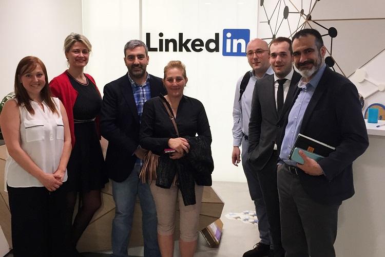 Markea visita LinkedIn